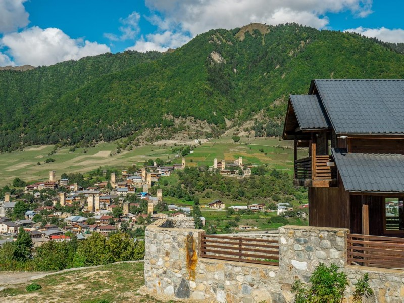 BREATHE IN HAPPINESS RETREAT IN SVANETI